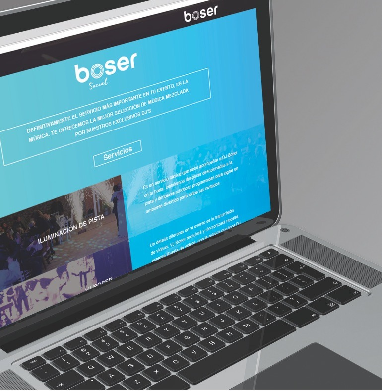 Web Site Corporativo -  Boser